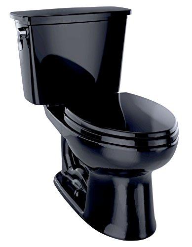 Toto CST744ELN#51 Eco-Drake Ada Elongated Bowl Toilet, Ebony
