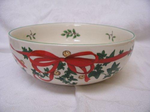 Spode Christmas Tree Red Ribbon Individual Bowl