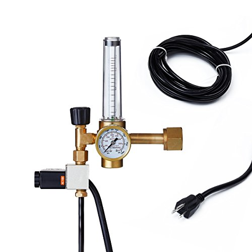 TopoLite Hydroponics CO2 Injection System Regulator Grow Room Flow Meter Control - Optimum Growth Co2 System