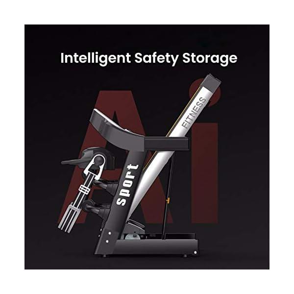 Fitness Club Tapis roulant Professionale, Pieghevole, Macchine da Passeggio Carico 150 kg, Cyclette Compatibile WiFi… 4 spesavip