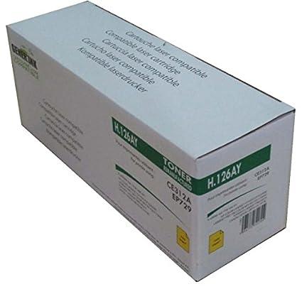 Toner compatible HP CE312 A/EP729 - amarillo - marca: gener Ink ...