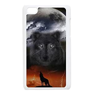 I-Cu-Le Phone Case Wolf,Customized Case ForIpod Touch 4