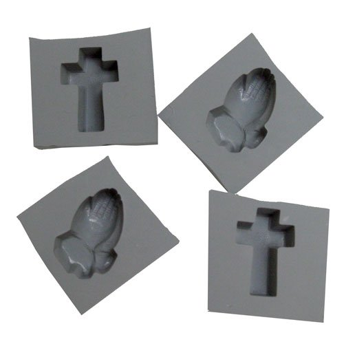 Confirmation Rubber Molds, 4/pk