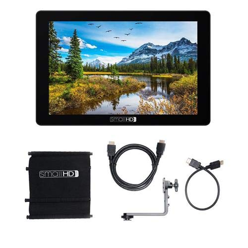 SmallHD 702 Touch 7'' Full HD On-Camera LCD Touchscreen Monitor, 1500 nits Brightness, 1920x1200 Tilt Arm Accessory Pack for Focus 7 Monitor by SmallHD