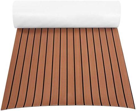 free SHIPPING 4 sheets Parquet Wood teakwood  floor matt VINYL waterproof 112 scale self ADHESIVE landscape