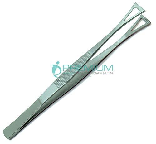 10× Collin Duval Tissue Forceps 15cm Body Piercing Tweezer Premium Instruments by Premium Instruments (Image #1)