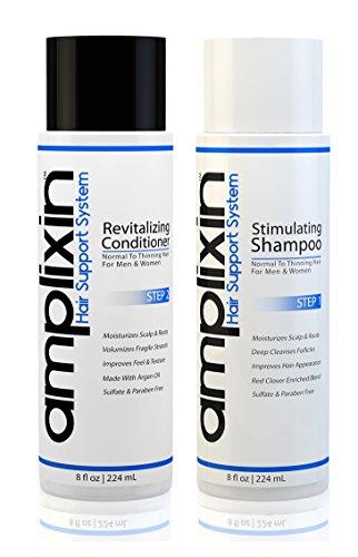 Amplixin Stimulating Shampoo Revitalizing Conditioner