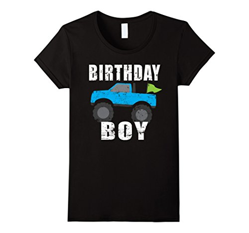 Birthday Monster Truck Shirt Party