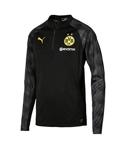 Stadium 1 Training Noir 4 2017 18 Puma gris Dortmund Top Borussia Flash jaune x4A4YO