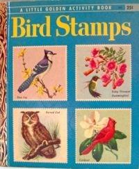 Bird Stamps 1955 Golden Stamp