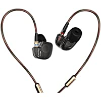 KZ ATE Hi-Fi IEM Sports Headphones with Copper Driver Ear Hook and Foam Eartips Specially for Music Fans, Standard Edition