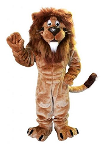 Lion Mascot Costume Character Adult Sz Real Picture Langteng