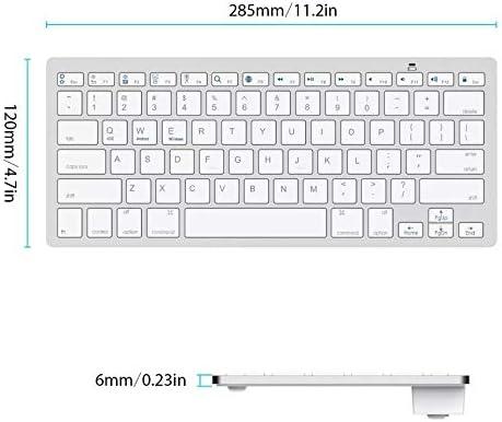 Tablets Samsung Bluetooth Keyboard for iPhone iMac Professional Ultra Slim Wireless Keyboard Black