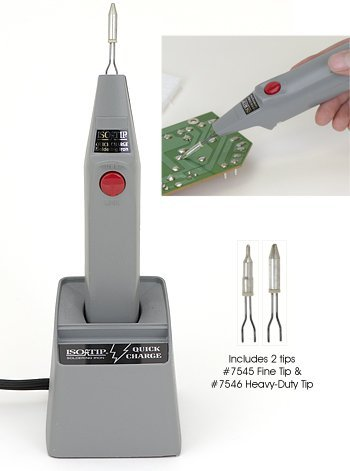 Aircraft Tool Supply Quick Charge Cordless Soldering Iron Kit by Aircraft Tool Supply