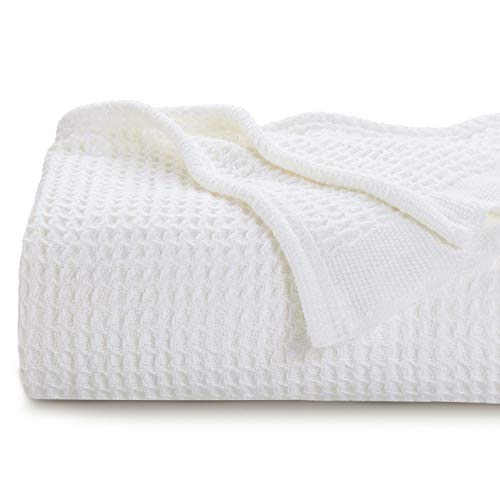 Bedsure 100% Cotton Thermal Blanket