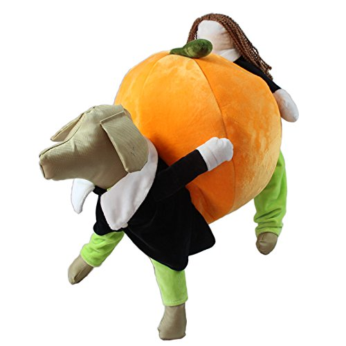 Harukokoro(TM)Funny Halloween Costume for Pets, for Large, Medium, Small Dogs/Cats/Puppy(S) (Lamb Dog Costume)