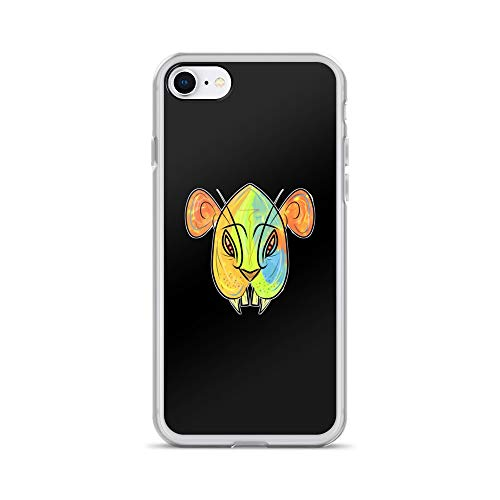 iPhone 7/8 Case Anti-Scratch Phantasy Imagination Transparent Cases Cover Evil Simba Fantasy Dream Crystal Clear -