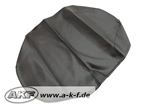 Sitzbezug glatt schwarz mit Logo wasserdicht Simson SR50 SR80 S53 S83