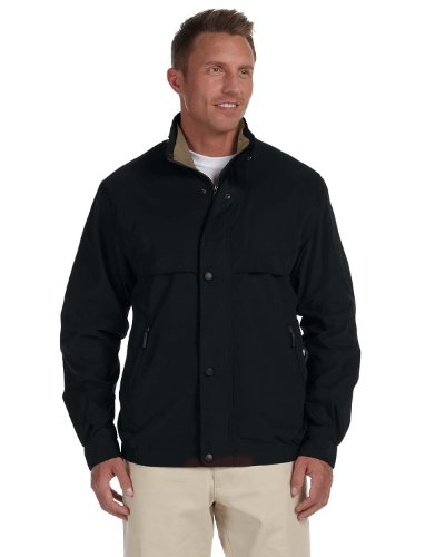 Chestnut Hill CH850 Lodge Microfiber Jacket - BLACK/SURPLUS - Small (Microfiber Jacket Color)