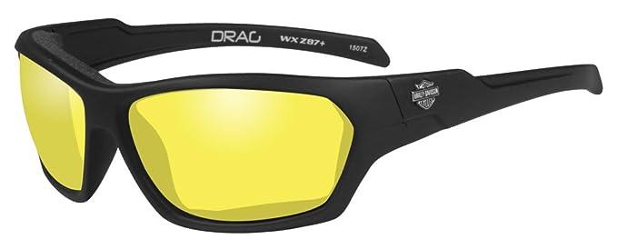 b3946e8e71e Image Unavailable. Image not available for. Color  Harley-Davidson Men s  Drag Gasket Sunglasses ...
