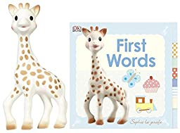 DK Publishing Sophie Book and Teether Bundle: First Words