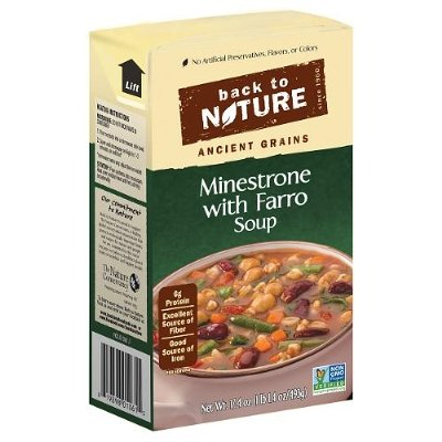 Back to Nature Soup - Minestrone with Farro - 17.4 (Farro Soup)