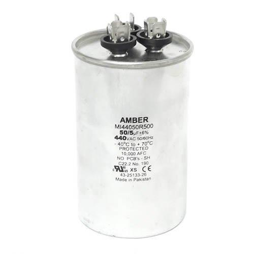 Rheem OEM Round Replacement Dual Run Capacitor 50 43-26261-16 5 UF//MFD 440 Volt