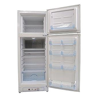 Refrigerador superior de gas propano LP de 8 pies cúbicos, 2 vías ...