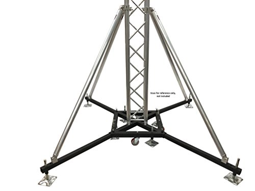 Industrial Strength Heavy Duty Rolling Truss Base With Casters + Four 68
