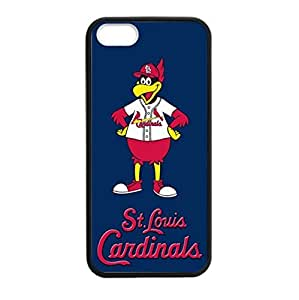 Super iPhone 5S TPU Case with Baseball St. Louis Cardinals Team Design (Laser Technology)-by Allthingsbasketball