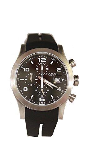 LOCMAN watch ISLAND 0618A01-00BKWHSK Men's