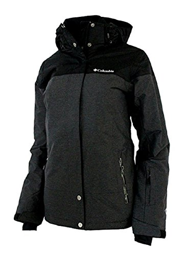 Columbia Womens Snowshoe Mauntain Insulated Jacket Black/Shark (Small) by Columbia