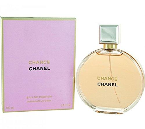 Chânel Chance Eau De Parfum Spray for Woman, EDP 3.4 Ounces 100...