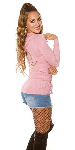 Gilet W36 Femme ros Rosa KouCla rose xHwH8