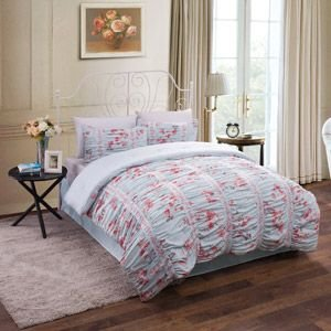 sets cotton blue set item pink cover fadfay bed floral girls duvet comforter and bedding