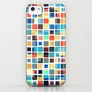Society6 - Colorful Tile Pattern iPhone & iPod Case by Phil Perkins
