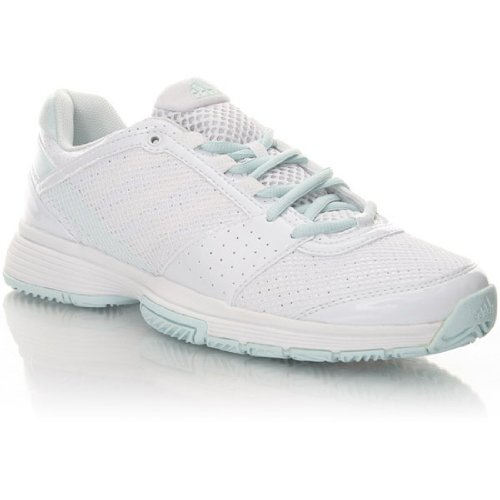 adidas 3 W Barricade Team, Sports Shoes-Tennis White/Running White/Signal Green