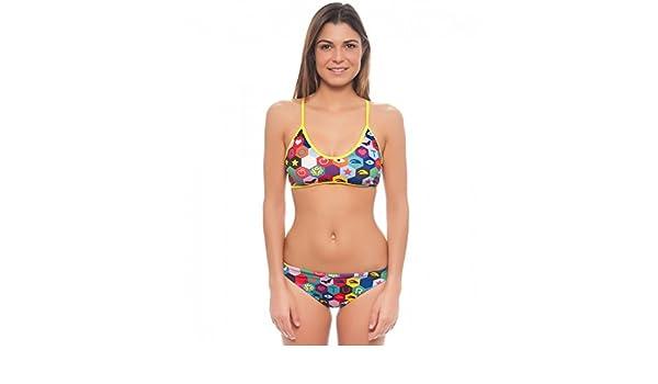 Turbo Hexa - Bañadores Mujer - Multicolor Talla S | US 30 2017: Amazon.es: Deportes y aire libre
