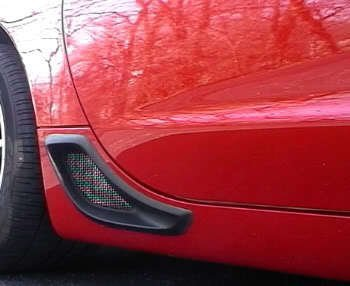C5 Corvette ZO6 Rear Brake Cove Vent Kit (Non Functional) for sale  Delivered anywhere in Canada