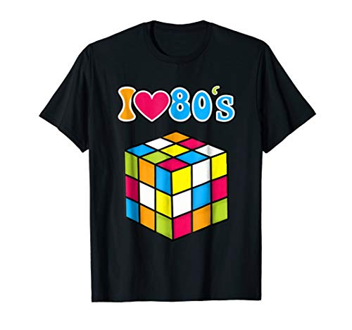 I Love The 80s Shirt- 80s Clothes For Men-80s Kids T-Shirt