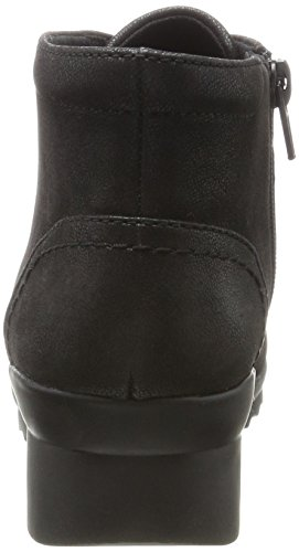 CLARKS Womens Black Lace Up Ankle Boot Black 8OPWEtyE4