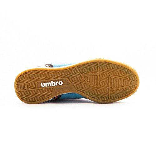 Umbro Futsal Street V Ic - Bota para hombres Bluebird / Grenadine / Negro / Blanco