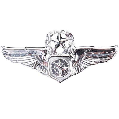 Medals of America Air Force Badge Master Air Battle Manager Regulation Mirror Finish Mirror