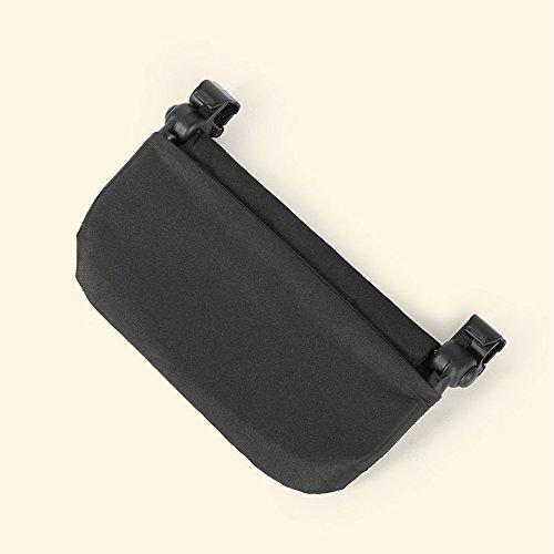 Stroller Footrest 6.5 inch longer Accessories for Baby stroller /Yoyo/Yoya /Babytime/ VOVO /Babythrone /Feet Extension Infant Pram Foot board (Black) by Karleksliv (Image #2)