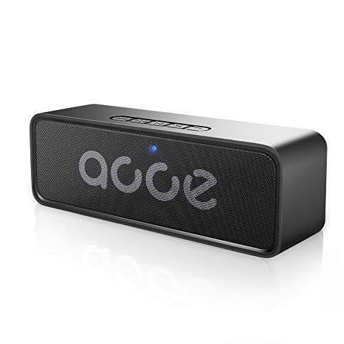 OJA Wireless Speaker,Portable Stereo Speaker,Bluetooth 4.2 with Enhanced Bass,Built-in Mic,6W Dual-Driver Speakerphone,12-Hour Playtime,Great Companion for Indoor/Outdoor,Support AUX/FM//TF/USB