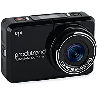 Action Sports Camera Car Dash Cam Wifi - Produtrend Video ActionCam 120 Degree Wide Angle Lens Full HD Camcorder 1920 x 1080P 8 Megapixel CMOS Sensor - Timer, Time Lapse, Loop Recording