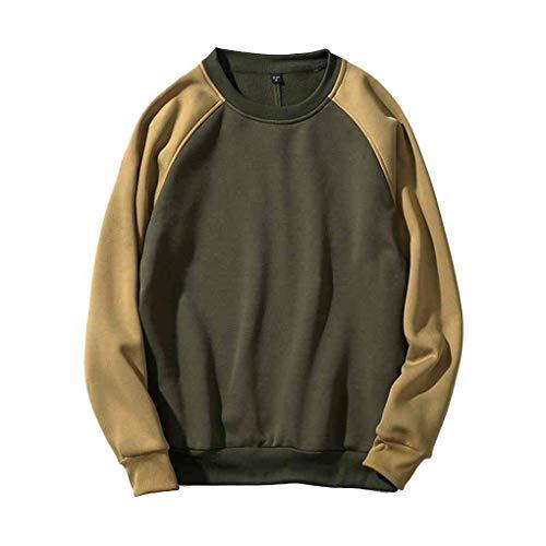 Vert Hooides O Garçons Windy5 Patchwork shirt Top Hommes Petits Sweat Automne Hiver Sweat Neck qSaWBOWw1