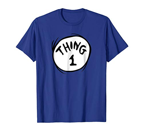 Dr. Seuss Thing 1 Emblem T-shirt -