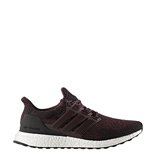Shoes 750 Running (adidas AW17 Mens Ultraboost Running Shoes - Maroon/Black - UK 8)