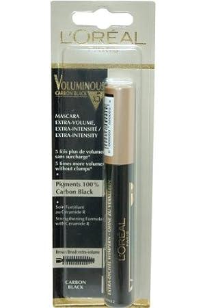 2e4645042c7 L'Oreal Voluminous x5 Extra Volume Mascara - Carbon Black: Amazon.co ...